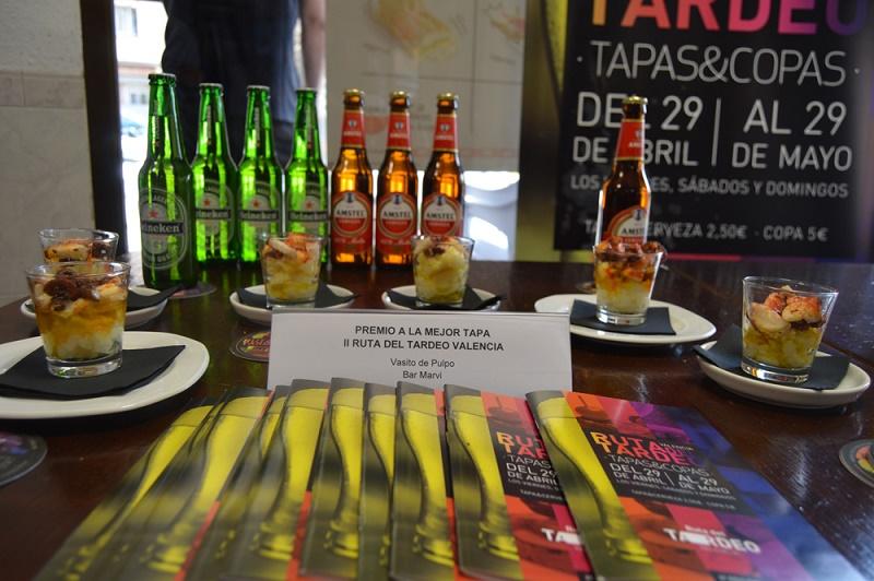 Bar Marvi y pub Max Max ganan el premio a la mejor tapa y a la mejor copa de la II Ruta del Tardeo de Valencia (2)