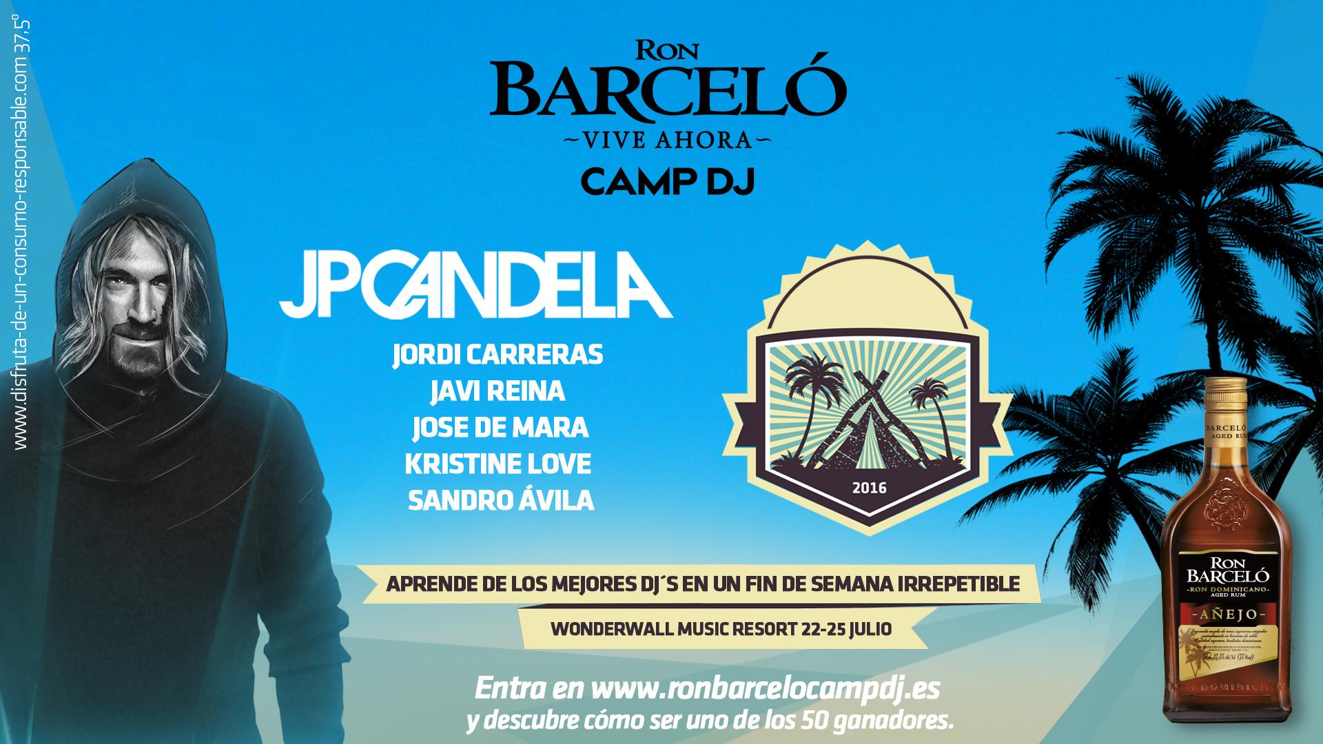 """Gandía acogerá """"CAMP DJ"""", un campamento impulsado por Ron Barceló para jóvenes que sueñan con ser DJ profesional"""