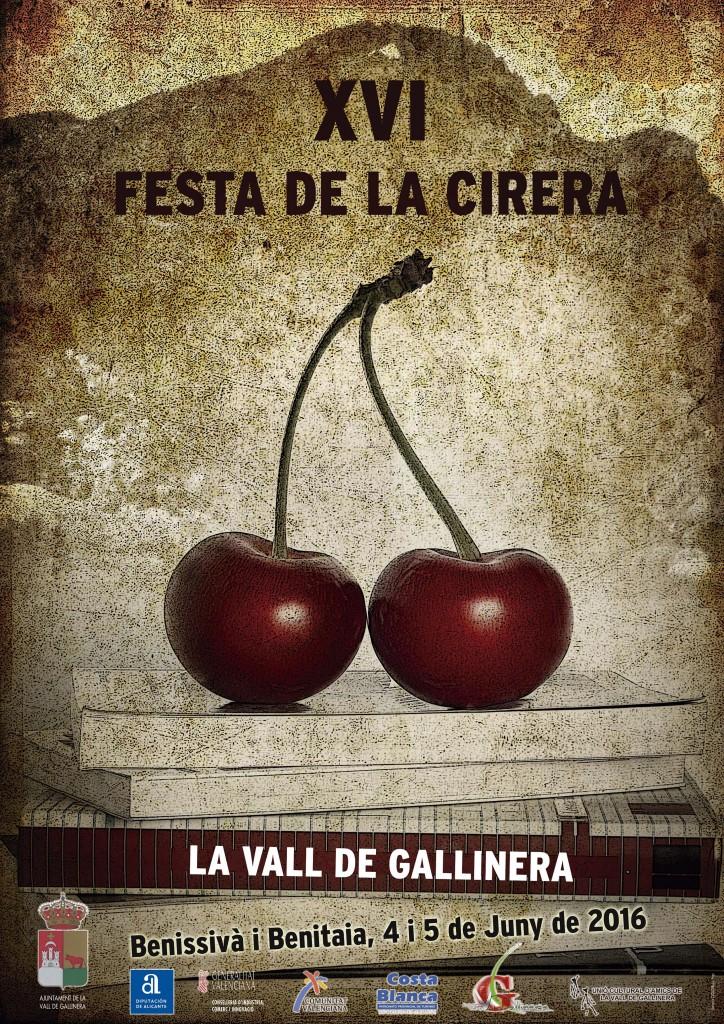 XVI FESTA DE LA CIRERA | Ayto. de Vall de Gallinera