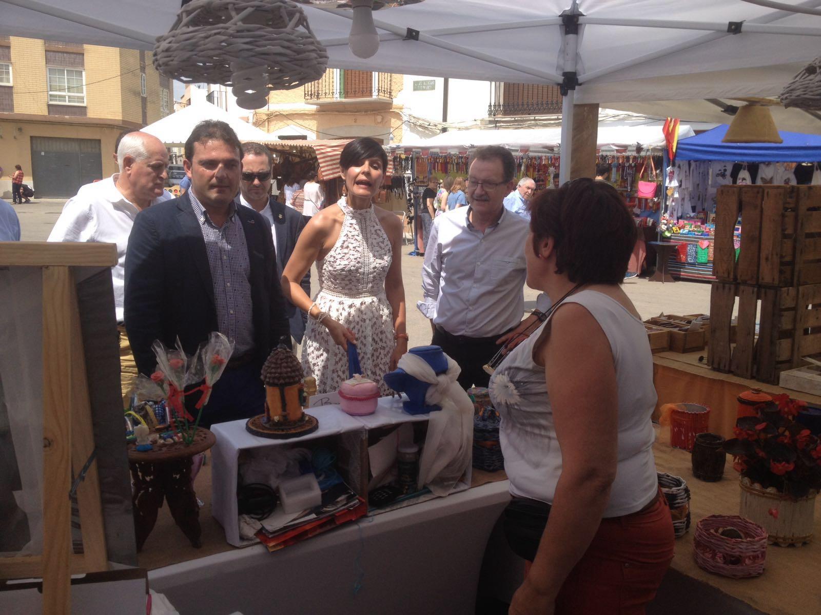 El vicepresidente Martínez participa en la XV Fira de l´Oli de Canet lo Roig