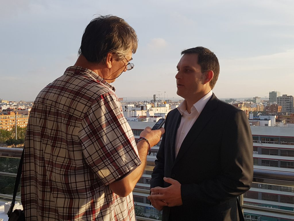 Entrevista a Carlos Alapont, director y General Manager de Expo Hotel Valencia 20160602_203216 (3)