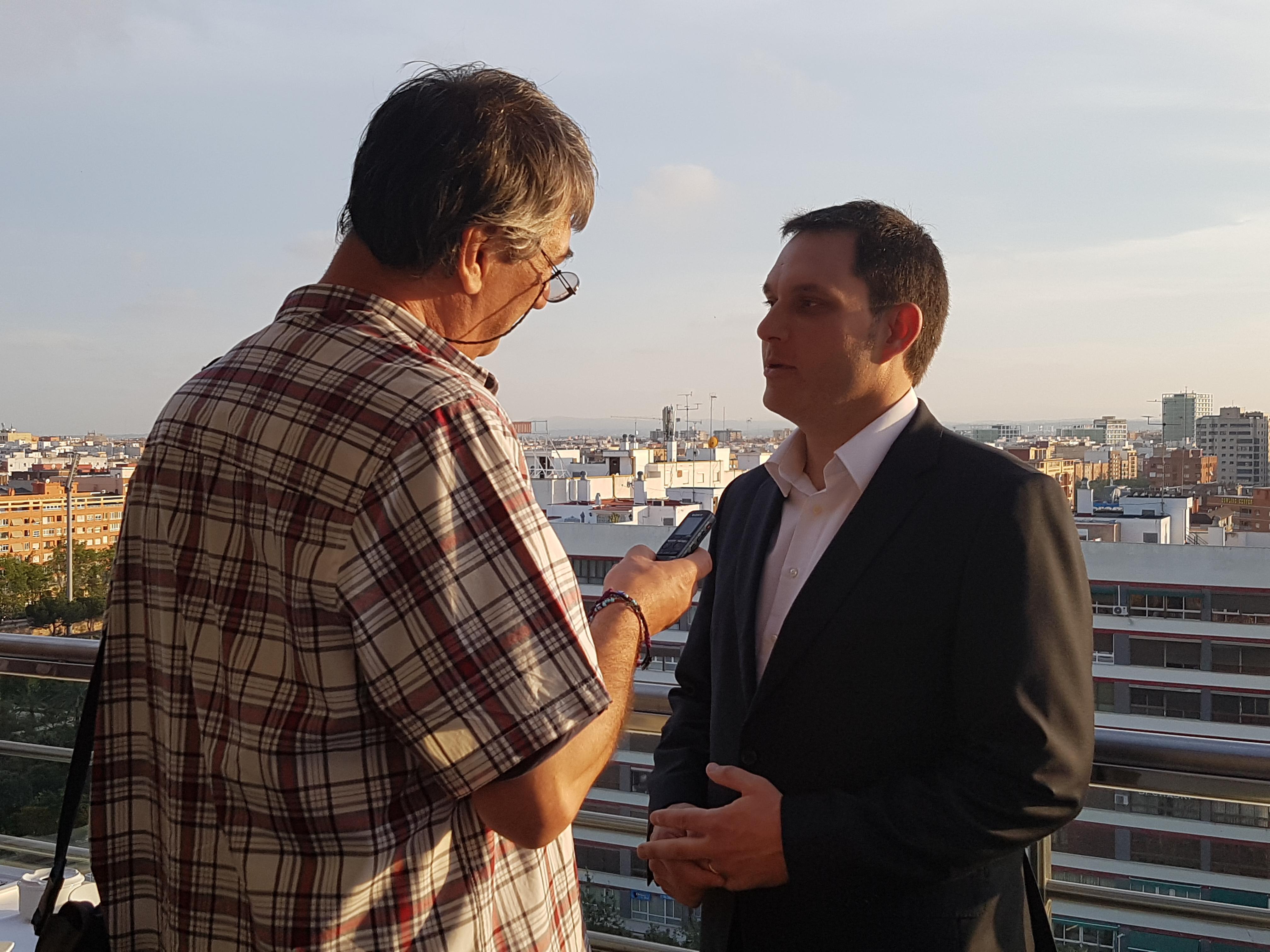 Entrevista a Carlos Alapont, director y General Manager de Expo Hotel Valencia