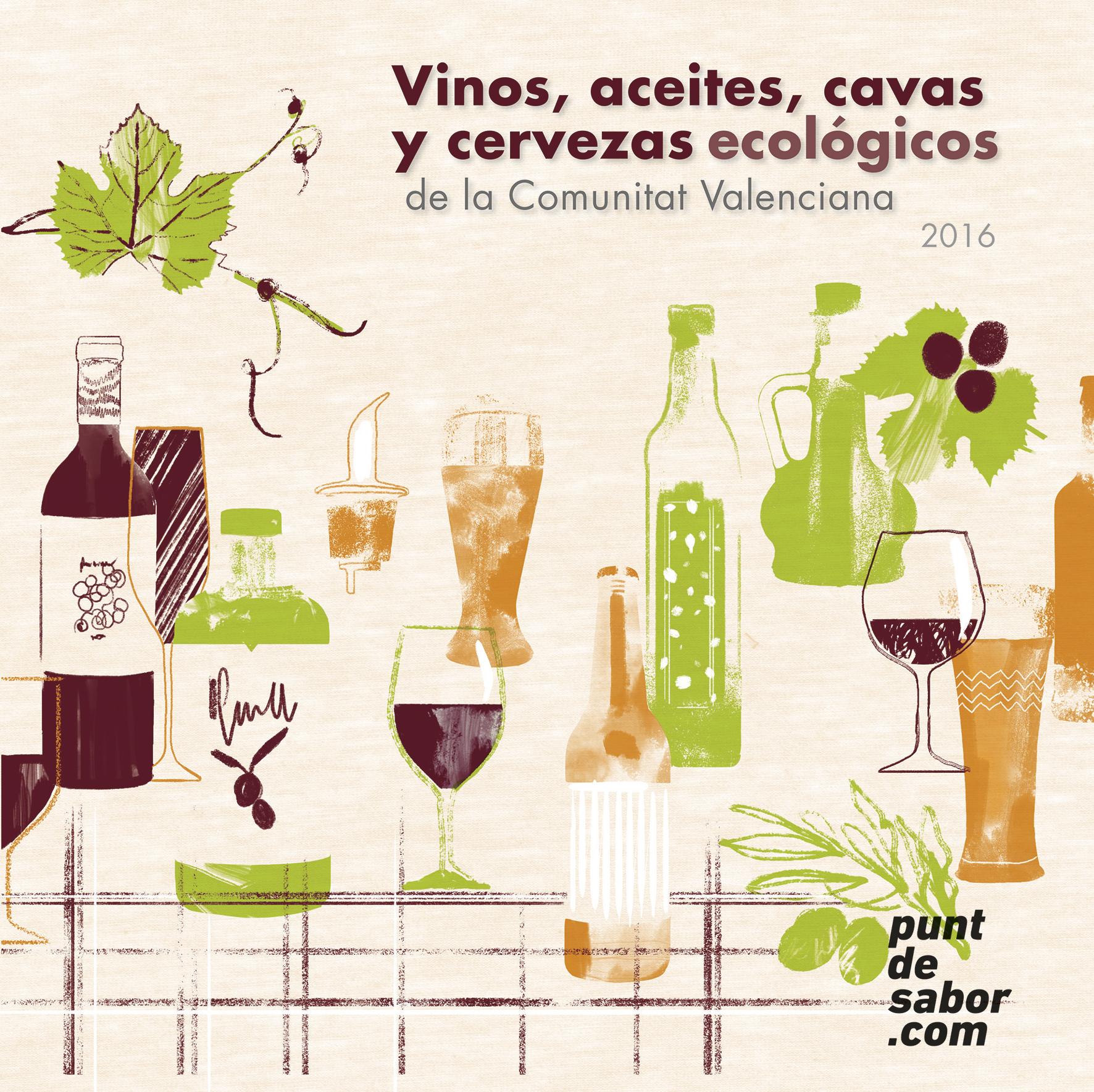 puntdesabor.com presenta la segunda edición de su guía de vinos y cavas ecológicos valencianos e incluye también a los aceites y las cervezas