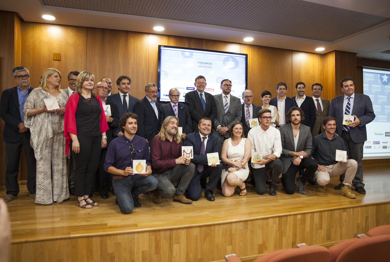 12 galardonados en los 'Premios Hostelería Valenciana 2016