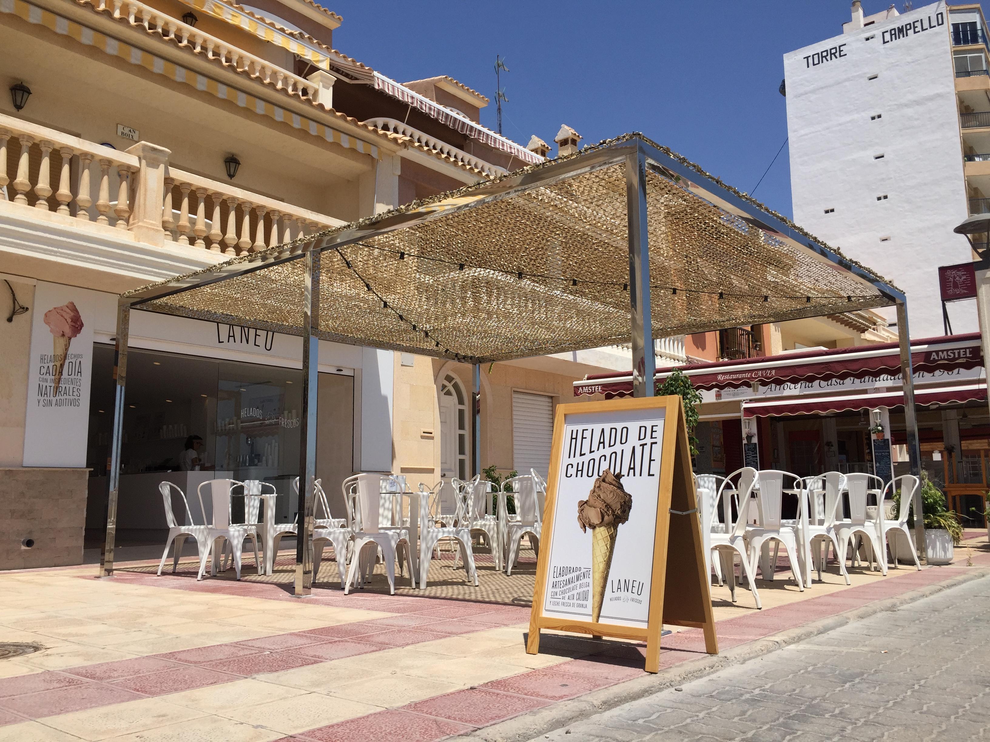 Laneu, un nuevo concepto de heladerías , ha inaugurado su segundo local en El Campello