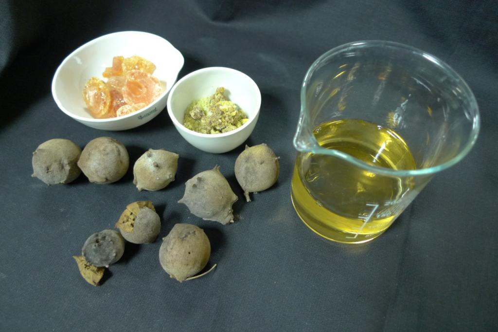 Ingredientes utilizados para fabricar tinta en el Siglo de Oro