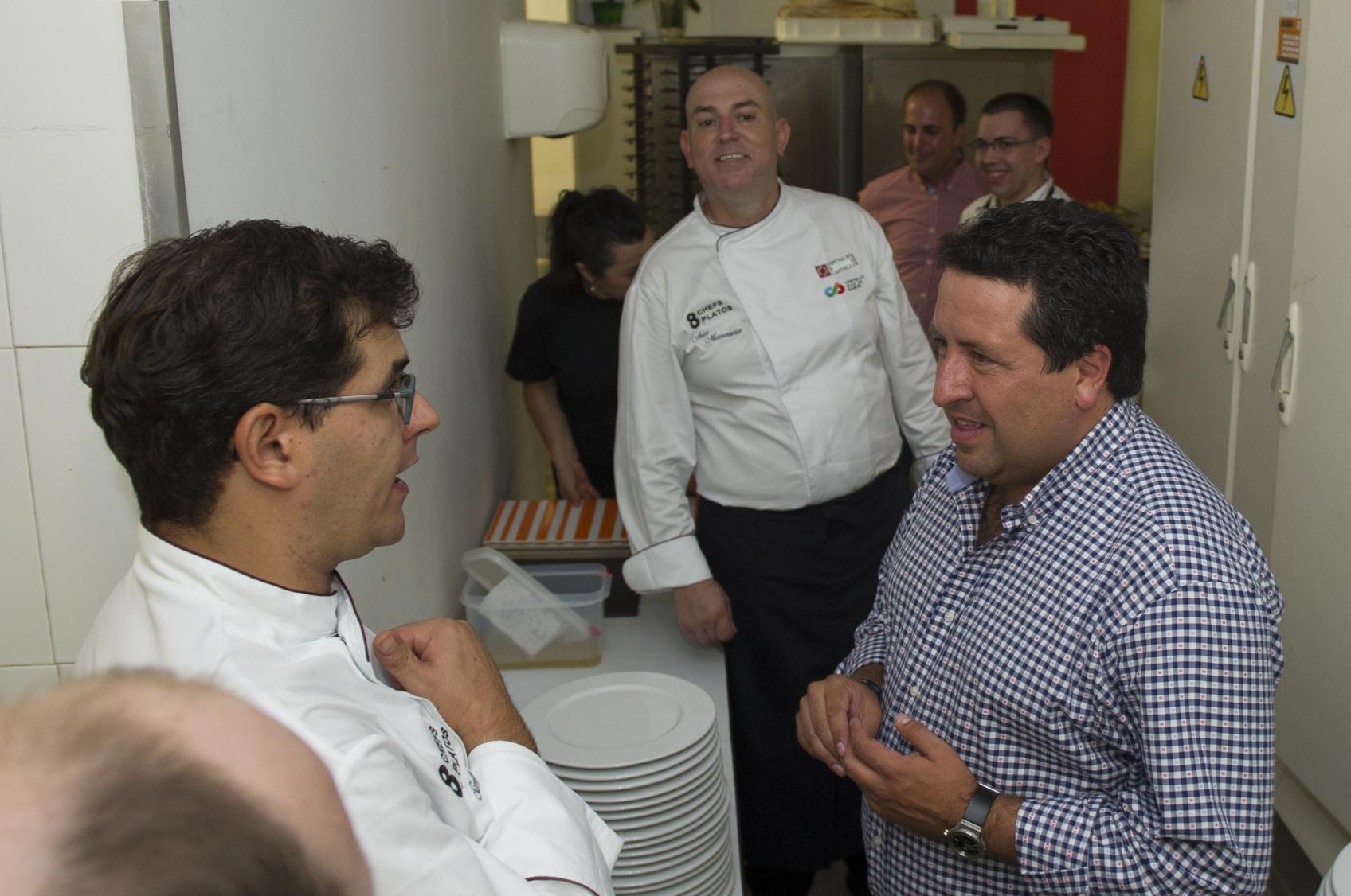 La Diputación promociona la gastronomía provincial al unir los mejores productos de Castelló Ruta de Sabor con ocho chefs castellonenses