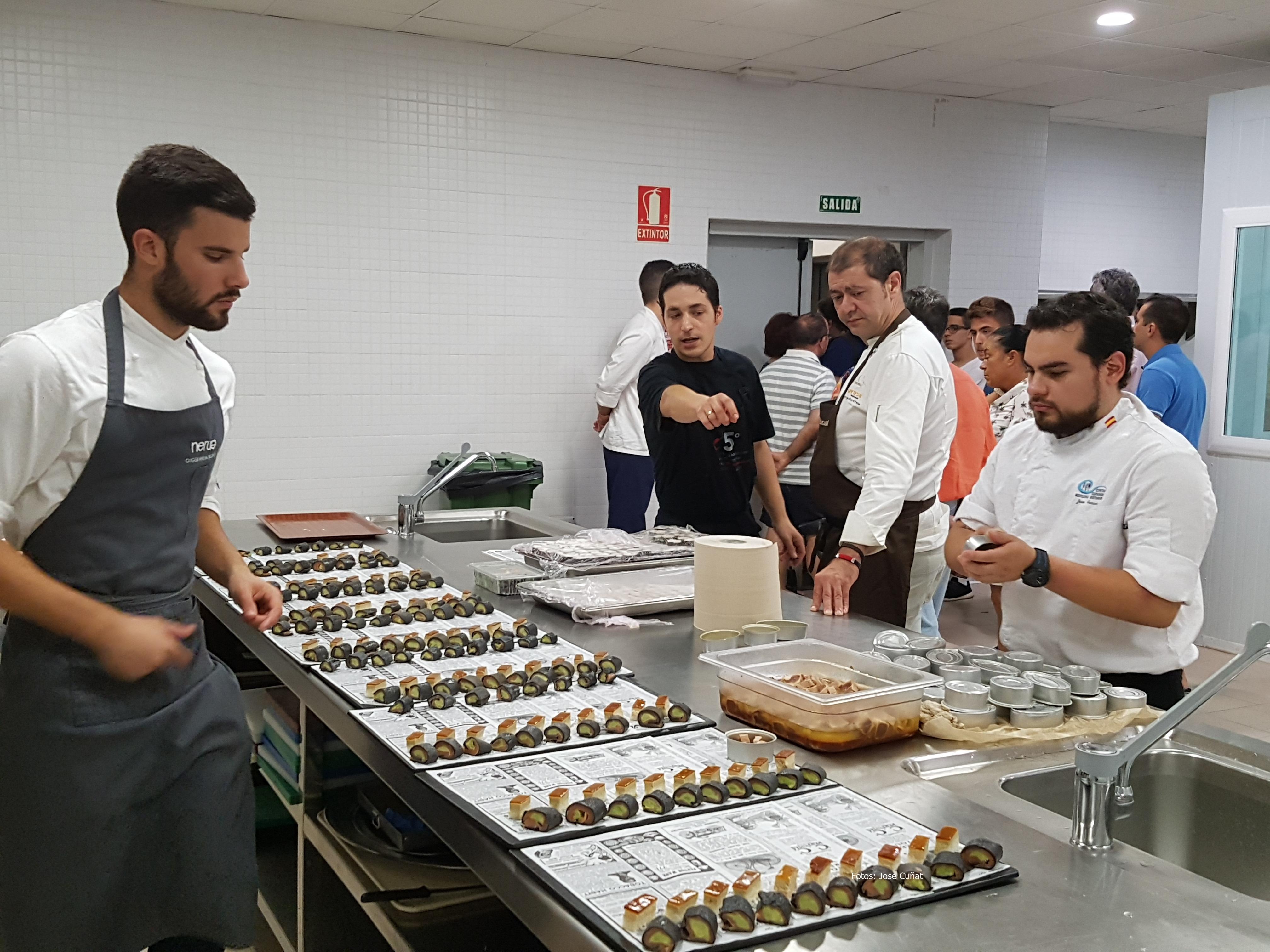 Se presentó la oferta formativa 2016-2017 de la Escuela de Hostelería Fundación Cruzcampo en Valencia
