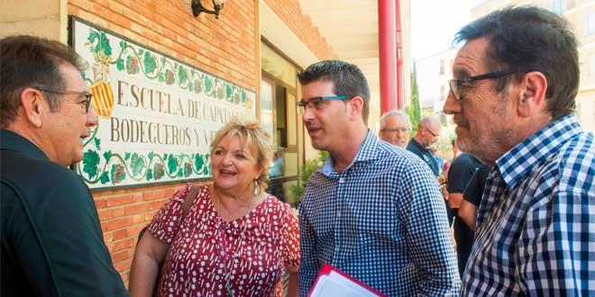La Escuela de Viticultura y Enología de Requena prepara el I Congreso de Cultura del Vino