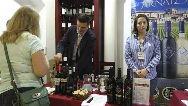 Una vinoteca moscovita celebra un festival para promocionar el vino español