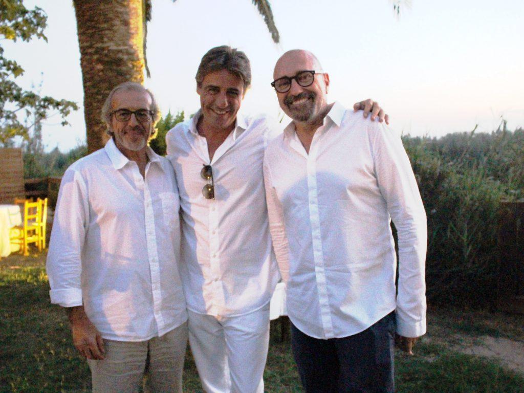 Luis Sáez, Iván Martínez-Colomer y Josep Lozano(2457)