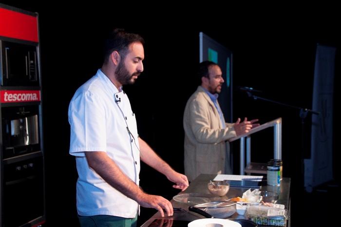 Maridaje de lujo del cocinero Salvador Linares con vinos MGWines Group