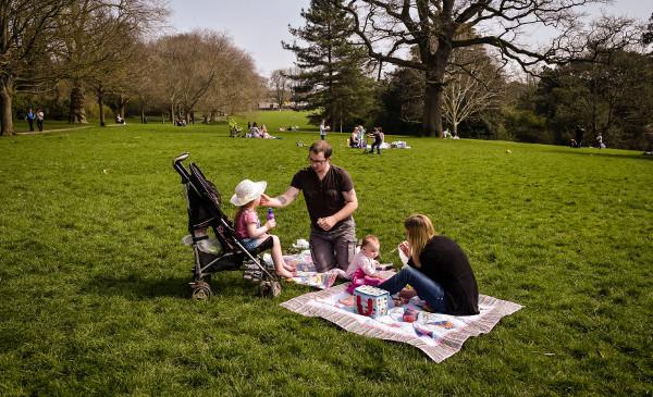 Pícnic, con tilde en la primera i y en redonda