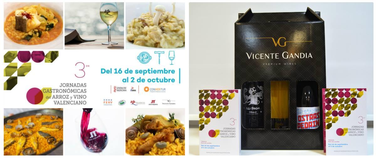 Hasta el próximo 2 de octubre continúan en marcha las Jornadas del Arroz y Vino Valenciano