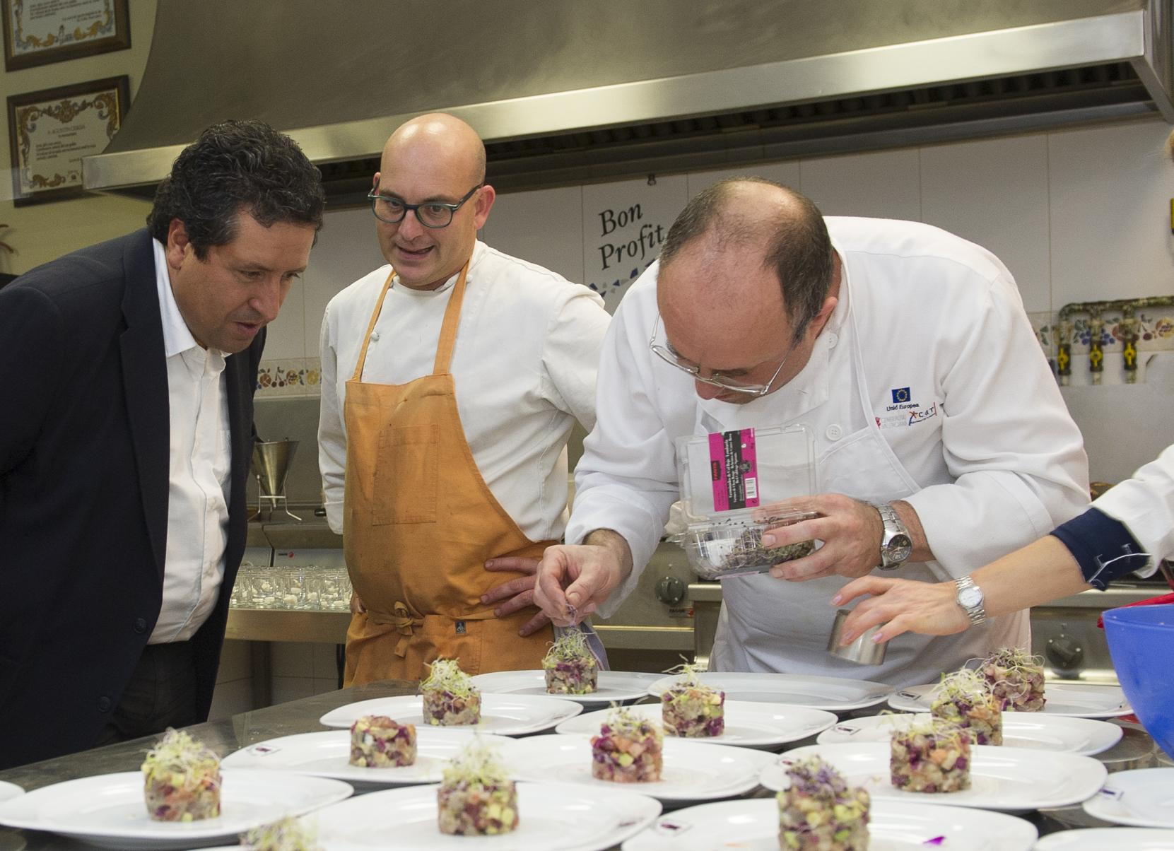 La Diputación de Castellón facilitará la ponencia de Quique Dacosta en el I Foro Europeo de Turismo Gastronómico a través de su portal web
