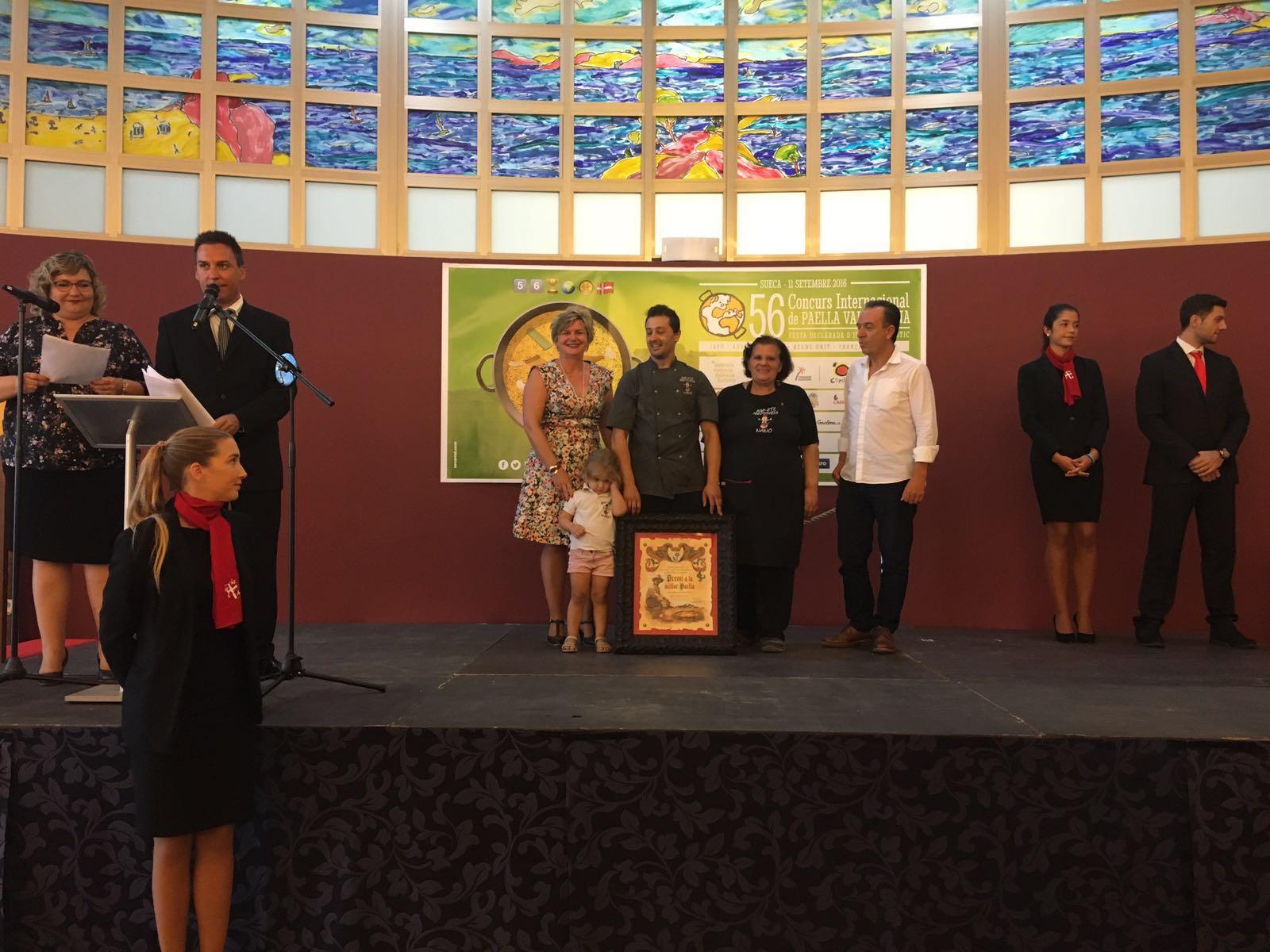 El Restaurante Casa Pepe Sanchis de Córdoba gana la 56ª edición del Concurs Internacional de Paella Valenciana de Sueca