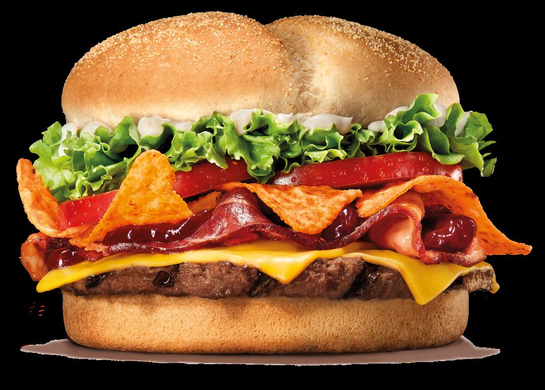 BURGER KING® se une con Doritos® para crear su hamburguesa más crujiente y atrevida