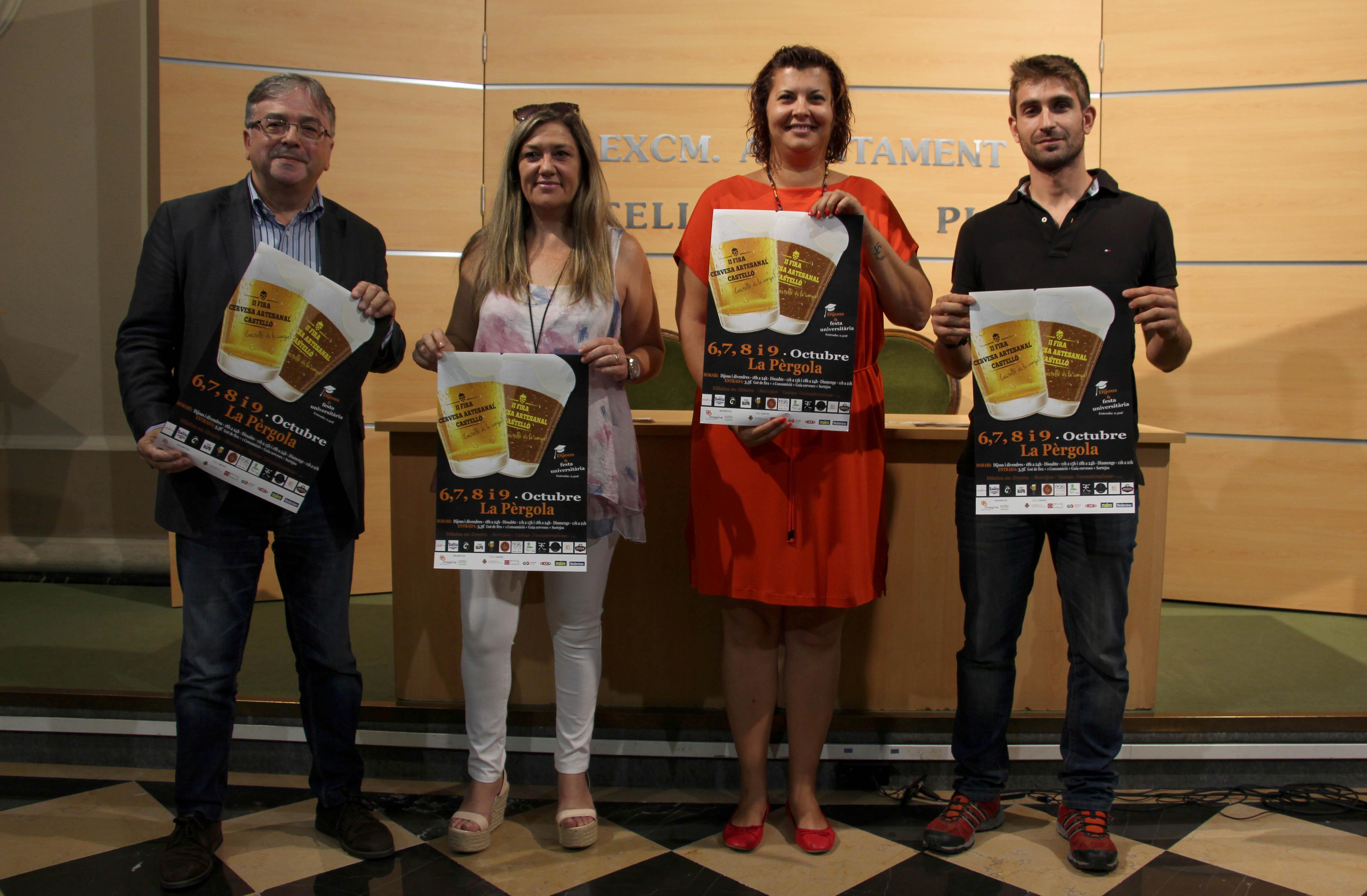 Castellón confía en superar las 5.300 visitas en la segunda edición de la Feria de Cerveza Artesanal