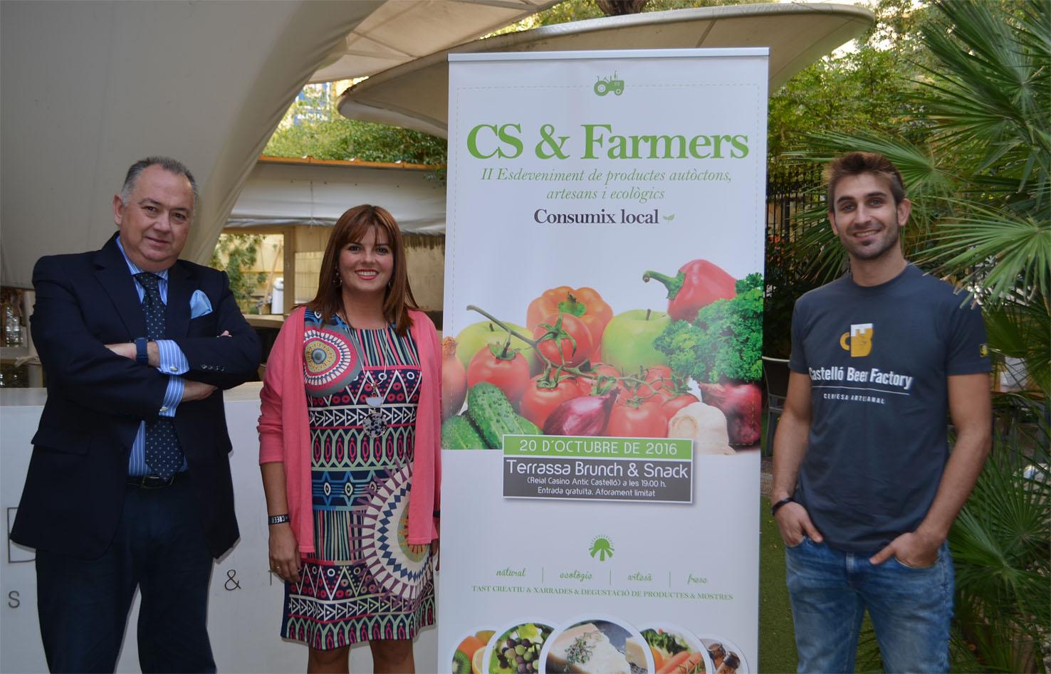 El encuentro CS&Farmers promueve el consumo de productos locales, artesanos y ecológicos