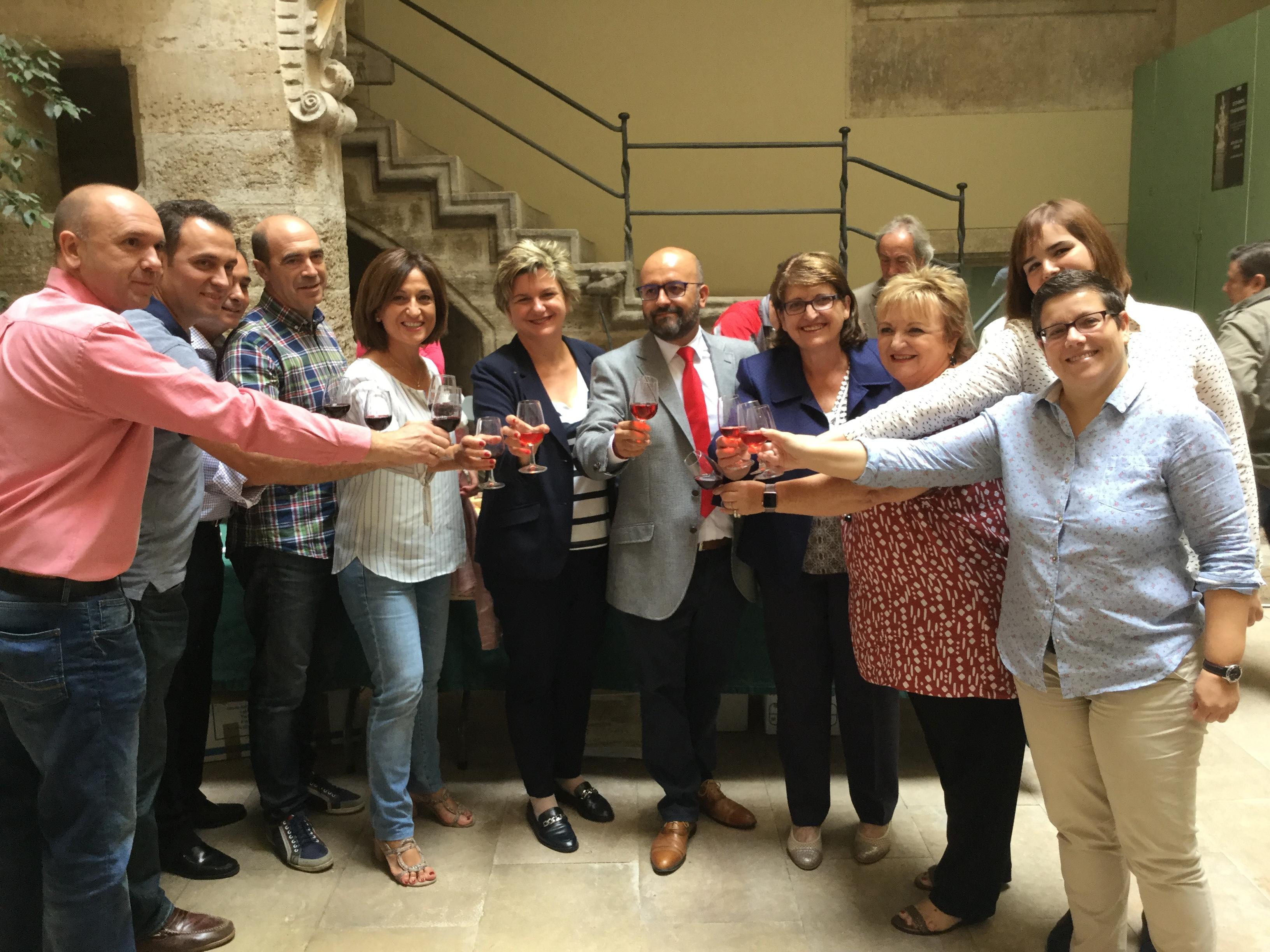 """Utiel Gastronómica se reivindica en Valencia como """"paraíso para los sentidos"""""""