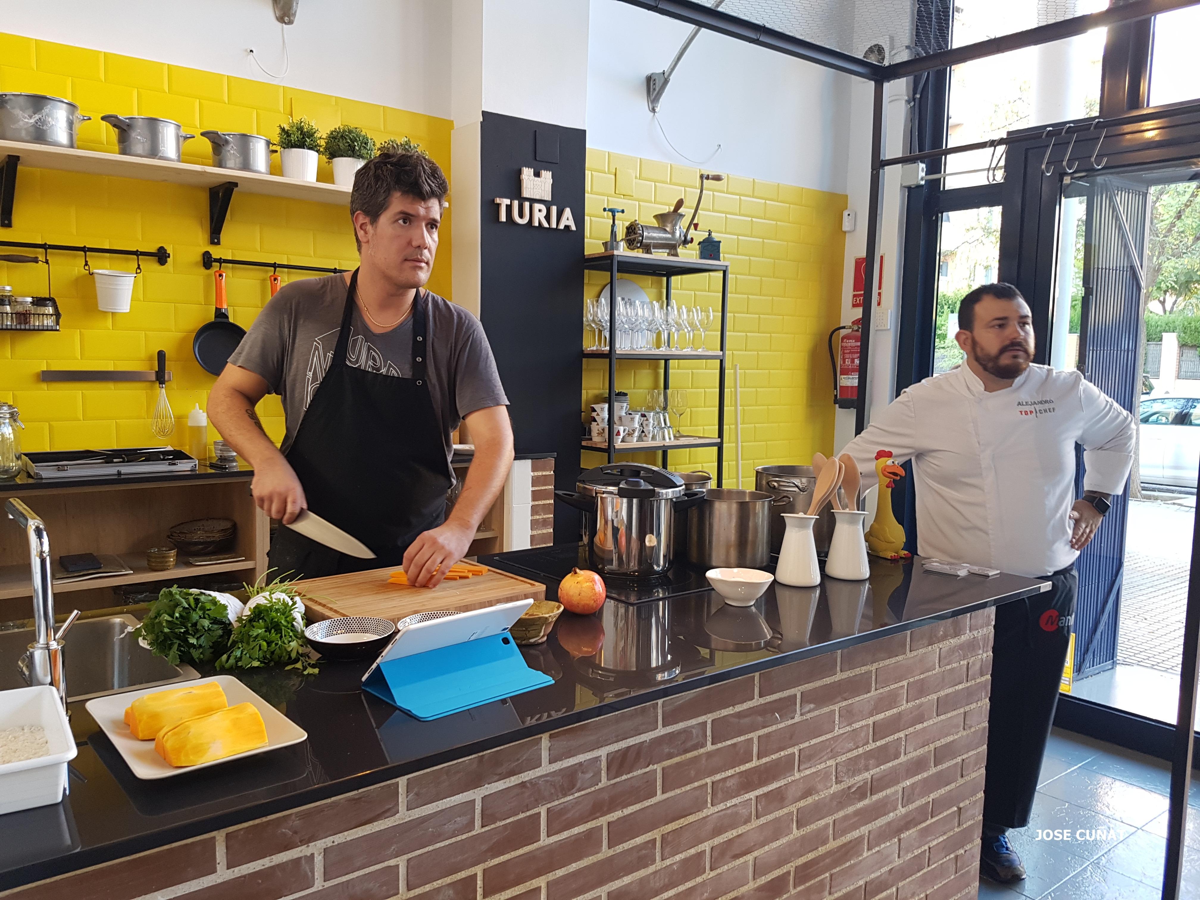 Taller de legumbres en Platero Food Studio