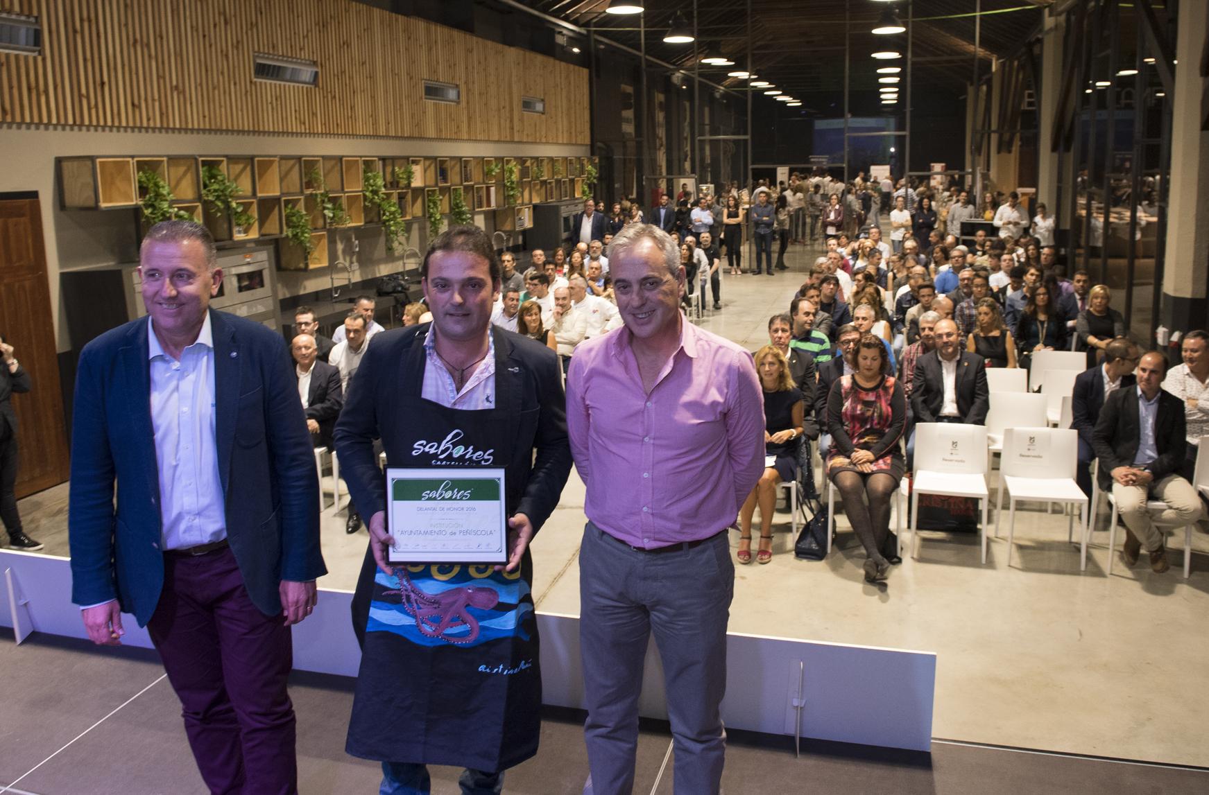La Diputación participa en la entrega de 'Delantales Anuales' en la presentación de la Ruta de Tapas Sabores