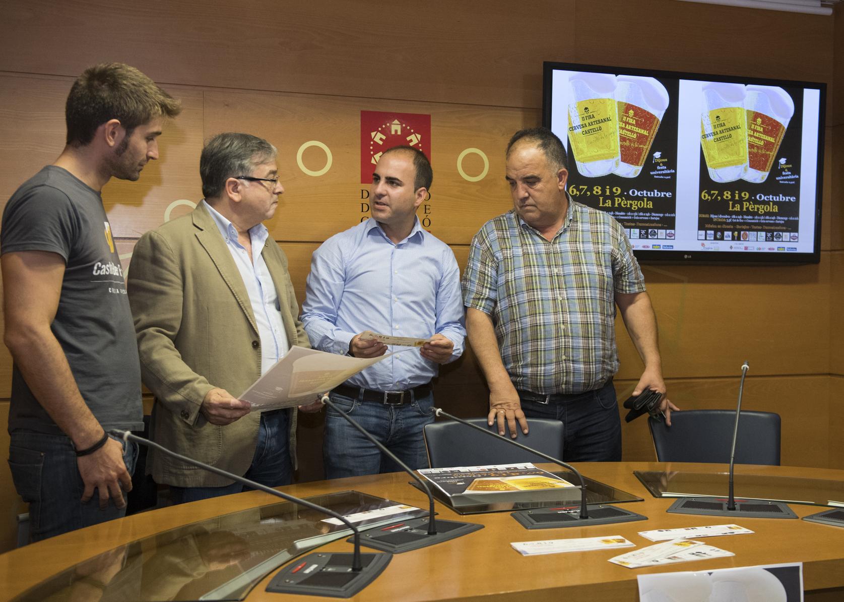 La Diputación convierte Castellón en un polo de atracción del turista gastronómico con la II Fira de la Cervesa Artesanal