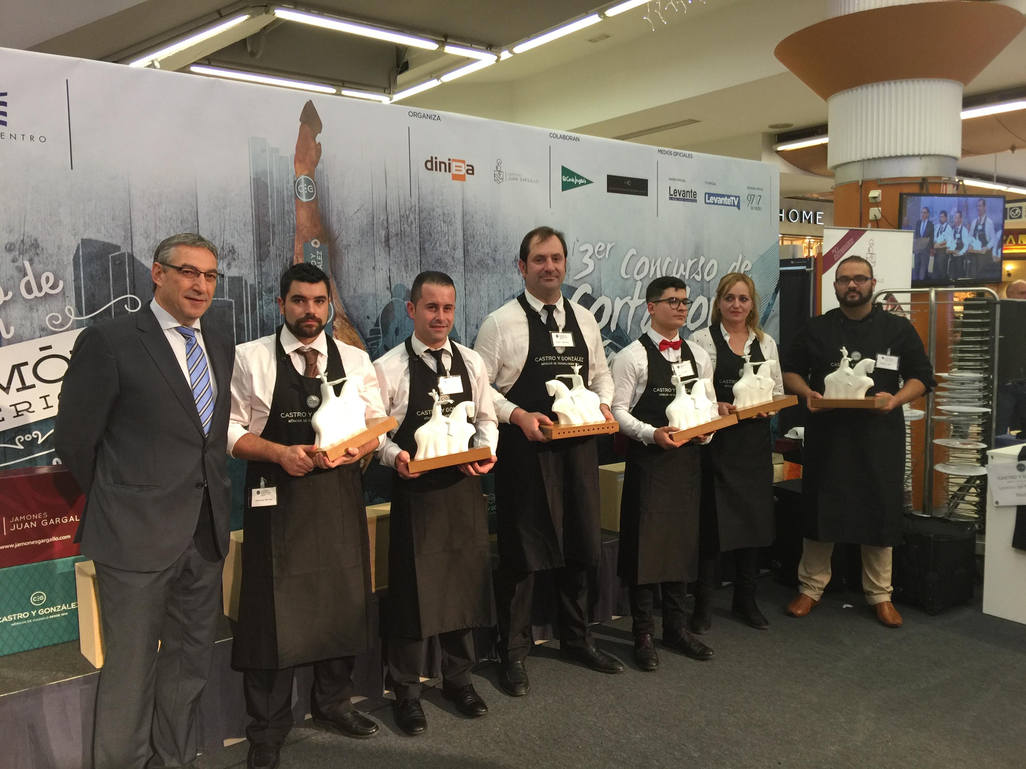 """3º concurso de cortadores de jamón ibérico """"ciudad Valencia"""""""