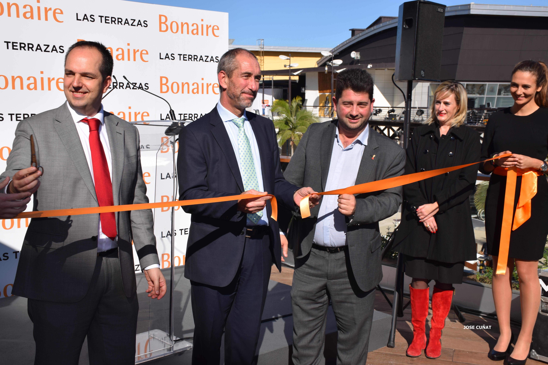 """Bonaire inaugura un espacio pionero de restauración y ocio """"las terrazas"""""""