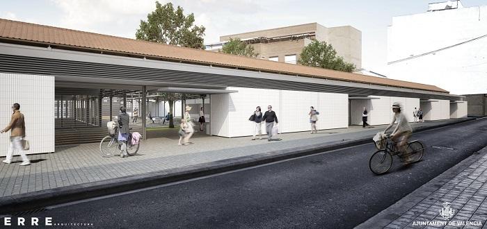 El Ayuntamiento rehabilitará el Mercado del Grau de Valencia para convertirlo en un punto de venta y de encuentro