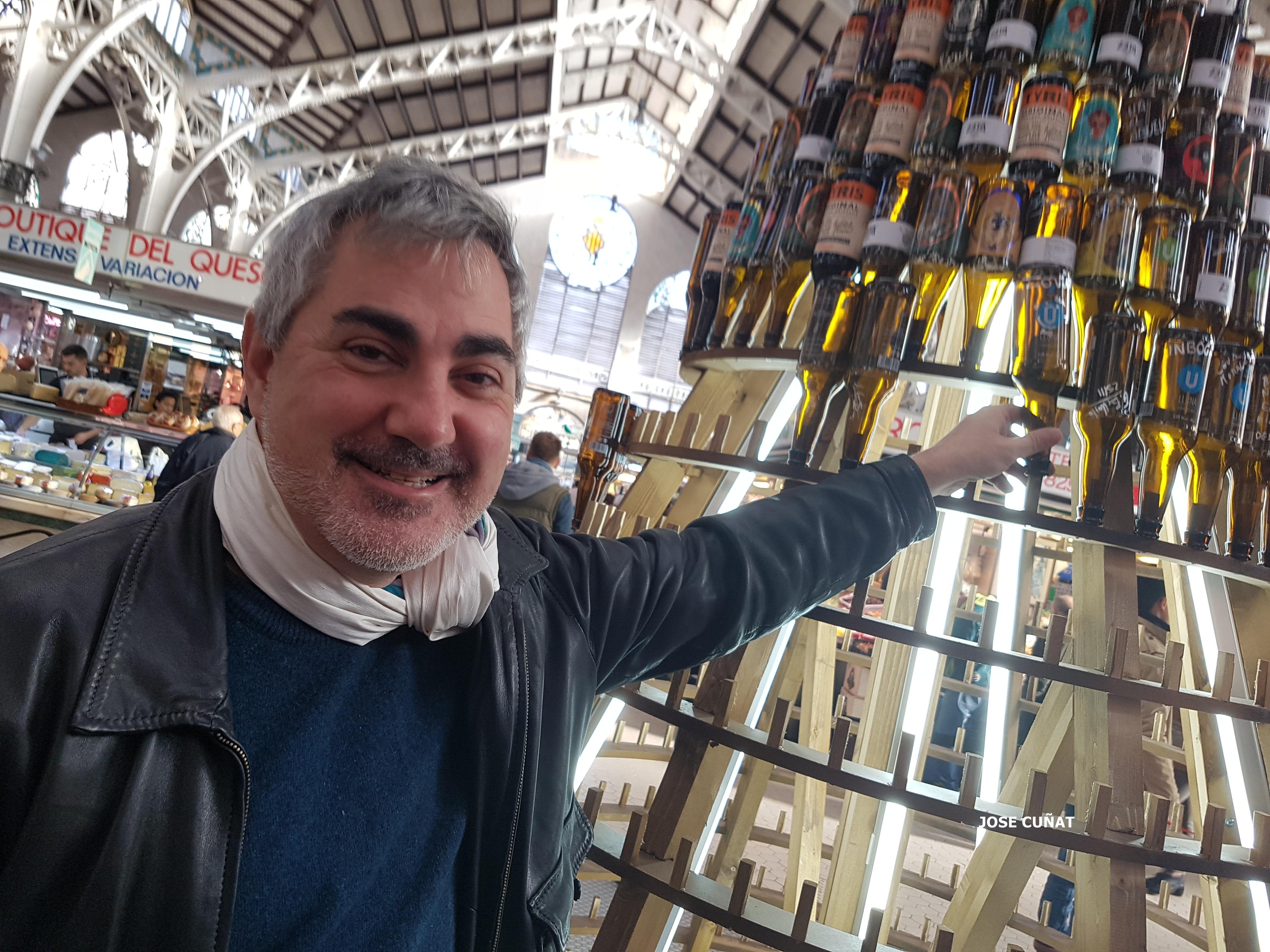 Bierwinkel sigue con la fiesta en el Mercado Central para que los valencianos conozcan sus cervezas artesanas