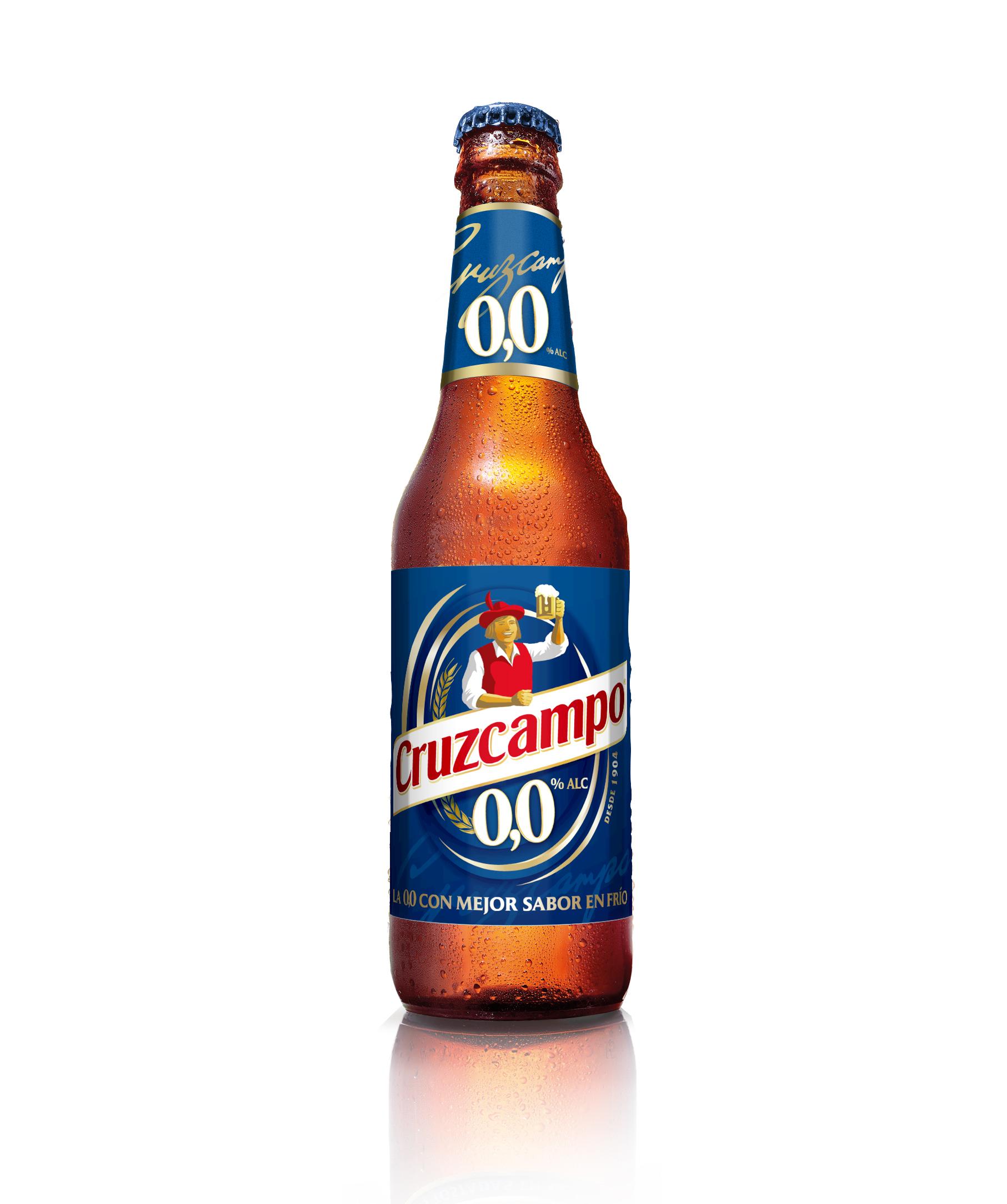 Cruzampo 0,0 la cerveza más refrescante esta Navidad