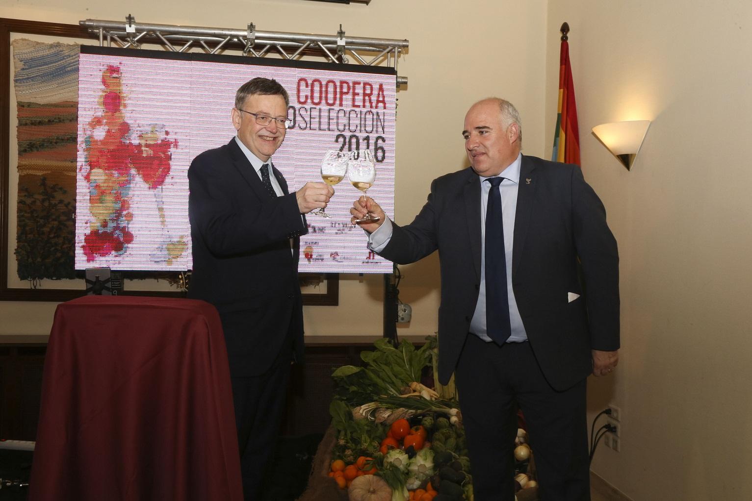 Puig asiste a la presentación de vinos cooperativos valencianos