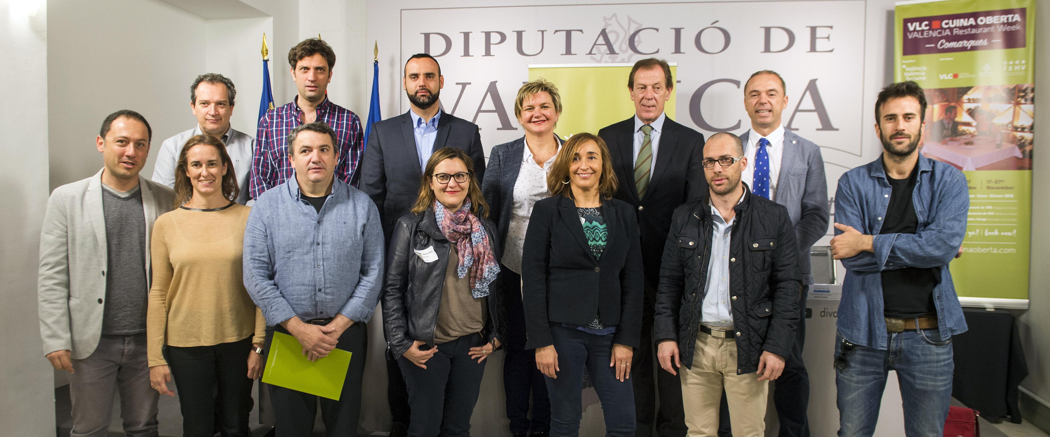 """""""València Cuina Oberta Comarques"""" pone en el mapa gastronómico a los restaurantes valencianos del territorio"""