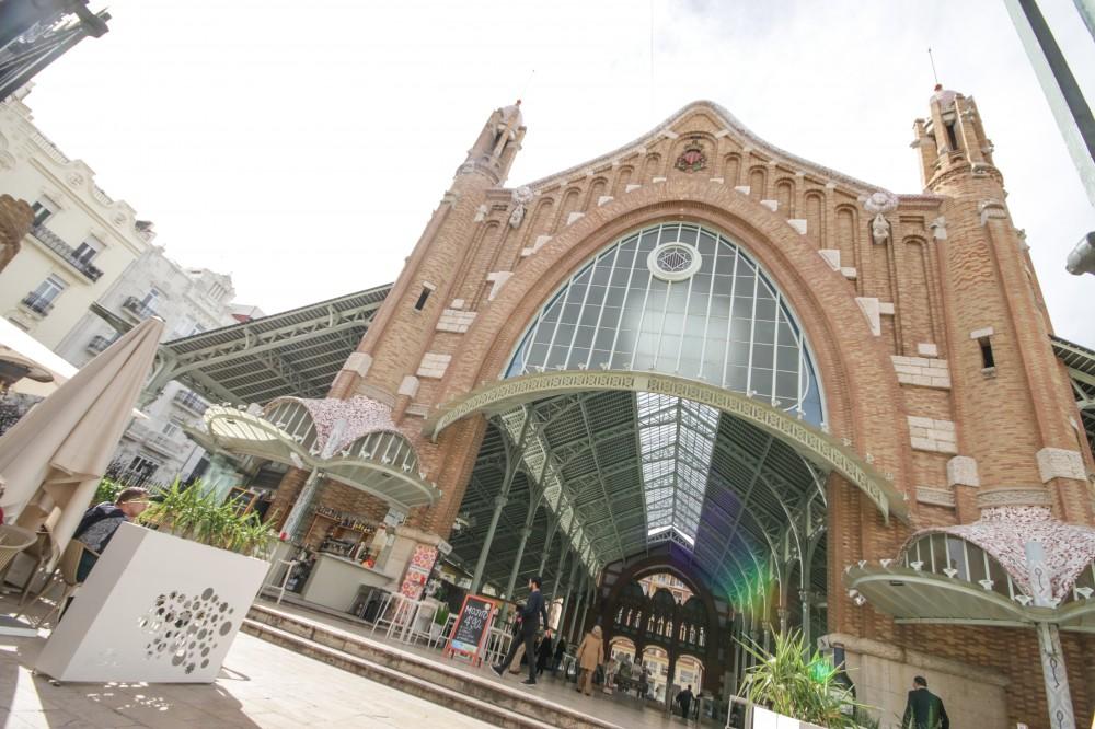 Los caracoles gigantes invaden el Mercado Colón