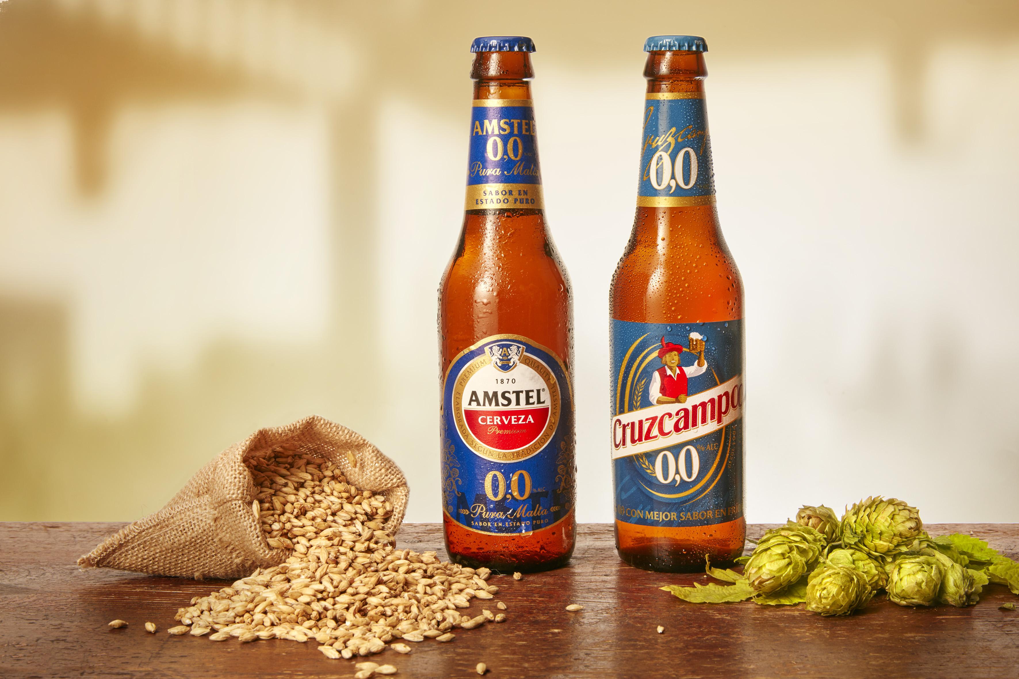 Dos nuevos lanzamientos con los que HEINEKEN España refuerza su apuesta por la variedad de 0,0 de cervezas