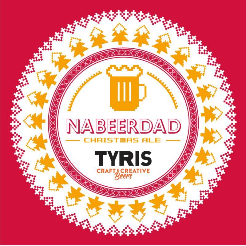 La cervecería de Valencia Tyris lanza Nabeerdad Ale, una cerveza para despertar tu espíritu navideño