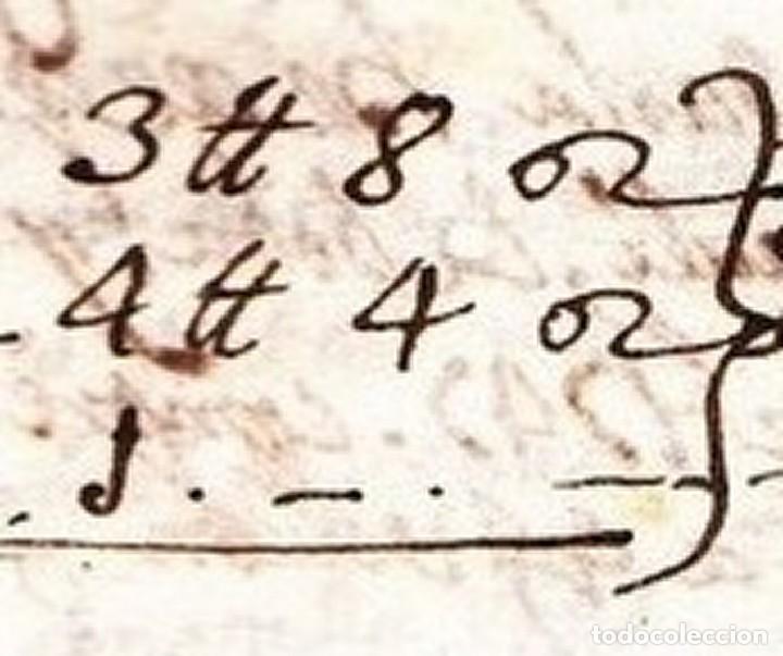 La primera receta manuscrita de la Mocadora 9 de octubre de 1747 Valencia siglo XVIII piuleta tronador
