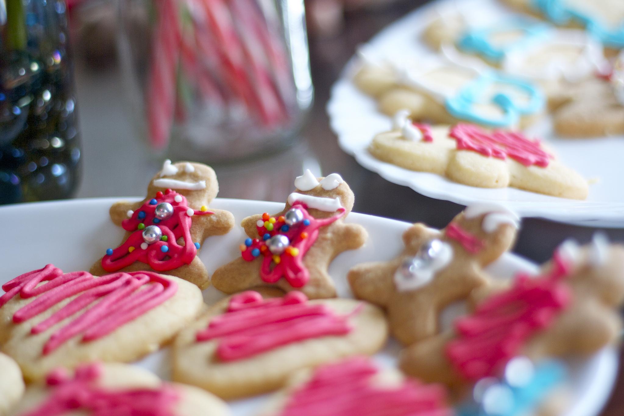 Receta de galletas de navidad de mantequilla