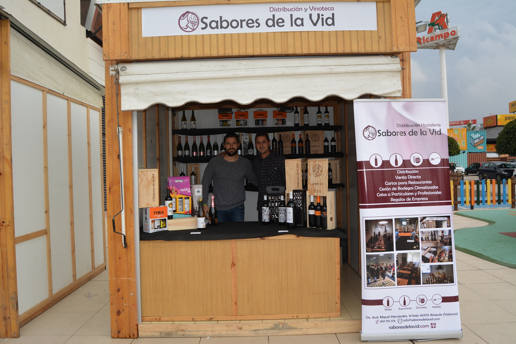 Bonaire y el Ayuntamiento de Aldaia organizan la feria de comercio local