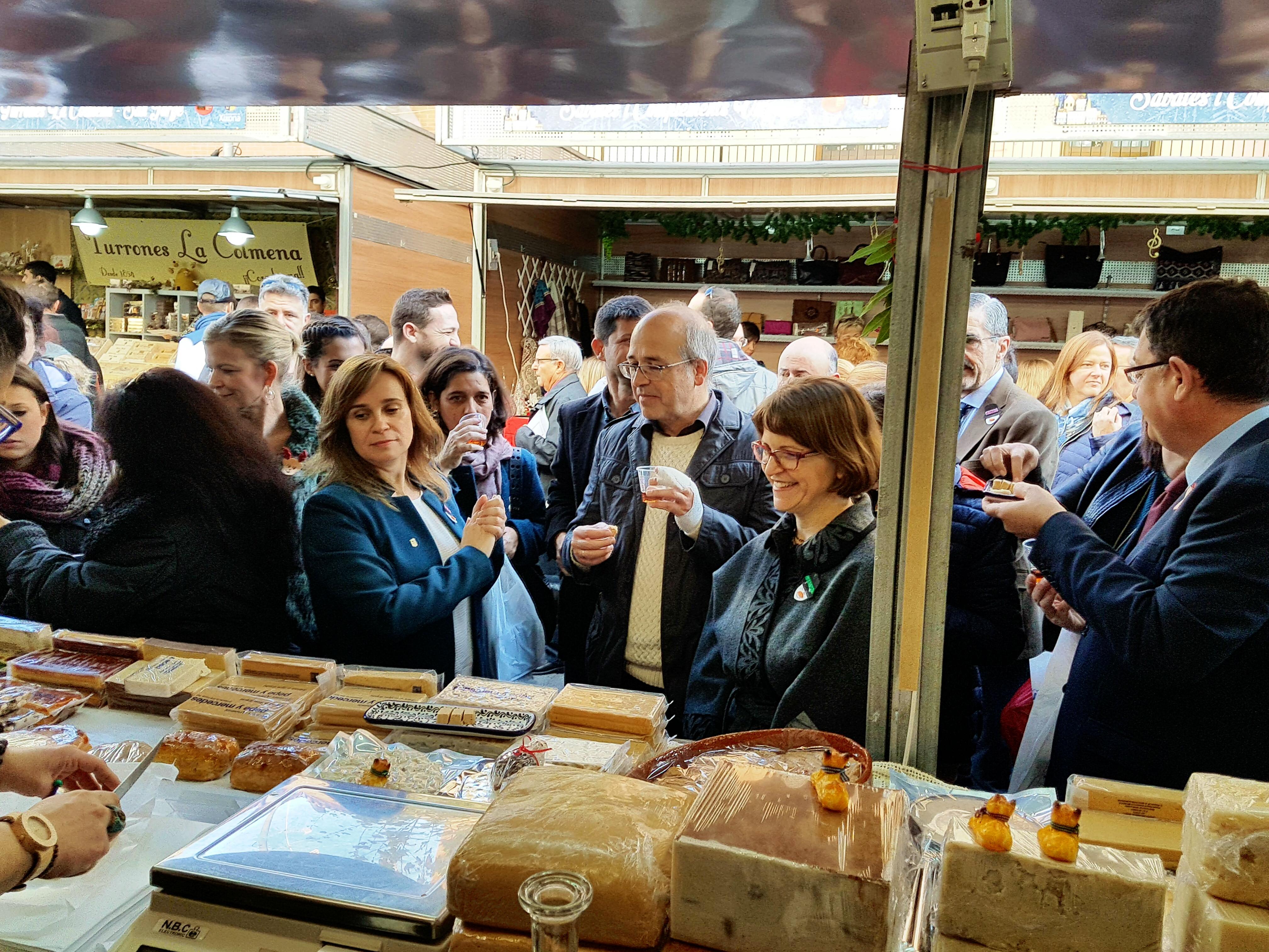 Cebrián: 'La iniciativa de la Generalitat' La Navidad es valenciano 'encuentra en Jijona uno de sus máximos exponentes'