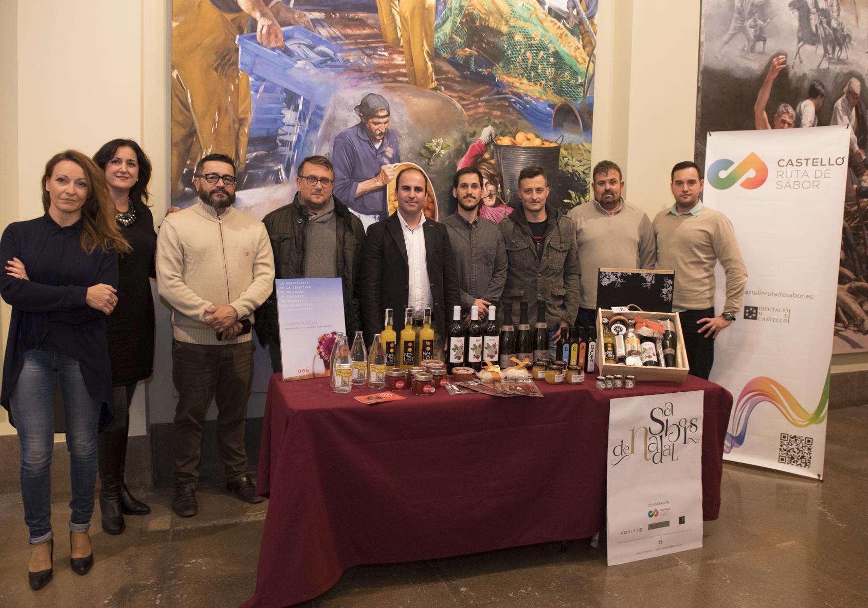 La Diputación impulsará la comercialización de los productos de Castelló Ruta de Sabor durante Navidad