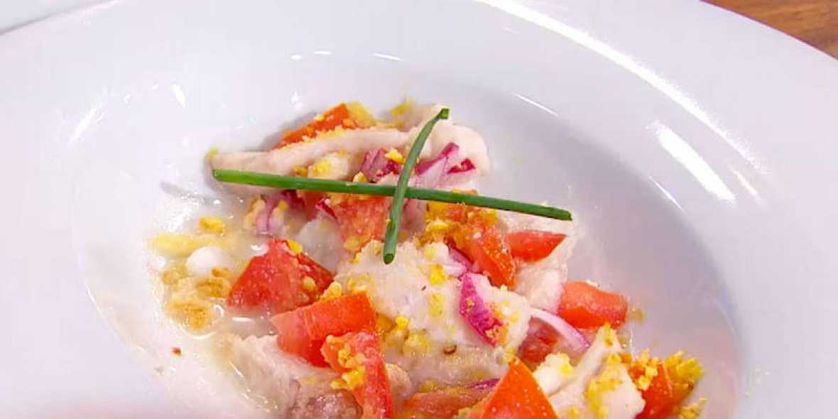 Receta de ceviche de pez sable MasterChef Junior
