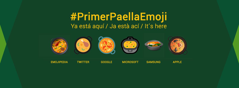 El #PaellaEmoji ya está en los móviles: el primer emoji español llega a los teclados de todo el mundo