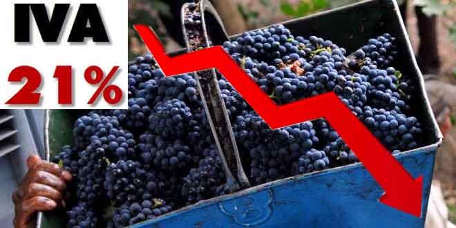 La Unió pide una bajada del IVA del vino para tratar de aumentar su consumo