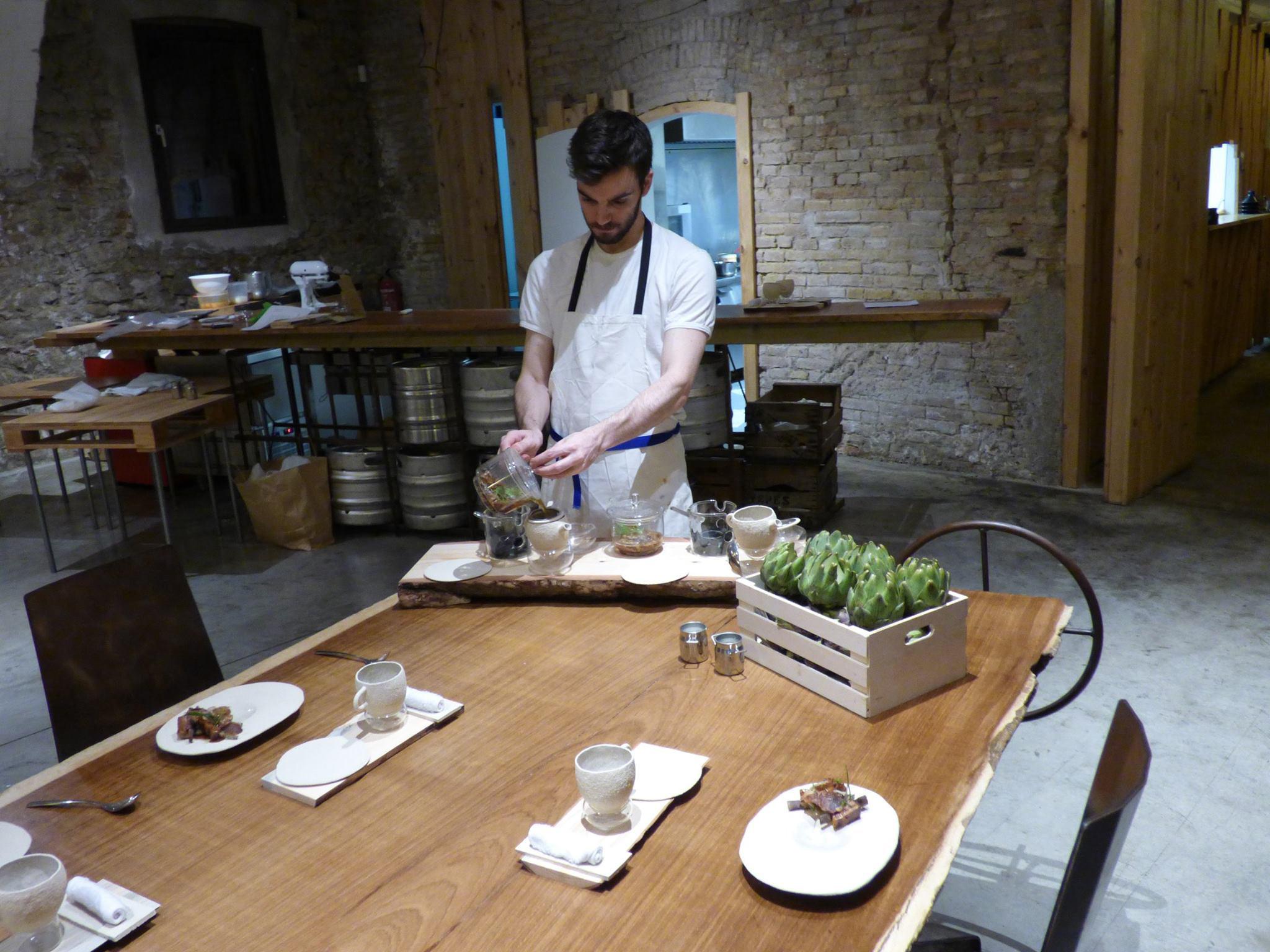 David Andrés, el mejor chef joven de españa inaugurará la campaña de alcachofas de la Vega Baja