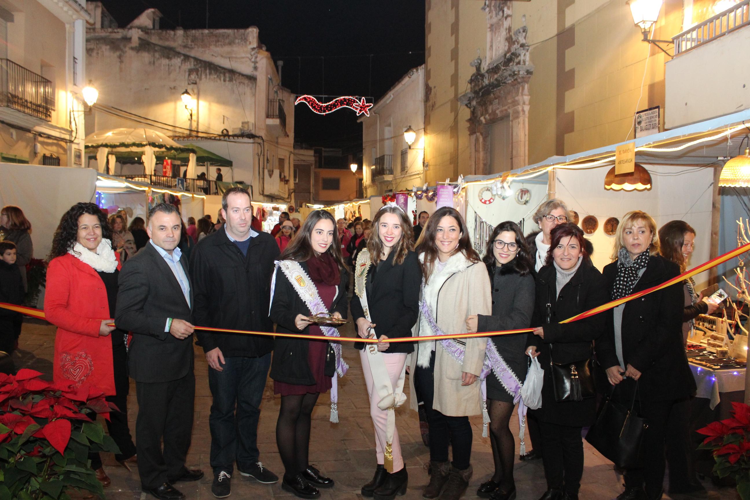 Comercio impulsa Sabor a Nàquera en Navidad para estimular las compras locales