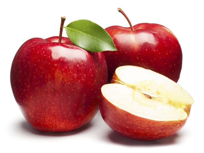 La manzana alimenta el cerebro y la sonrisa