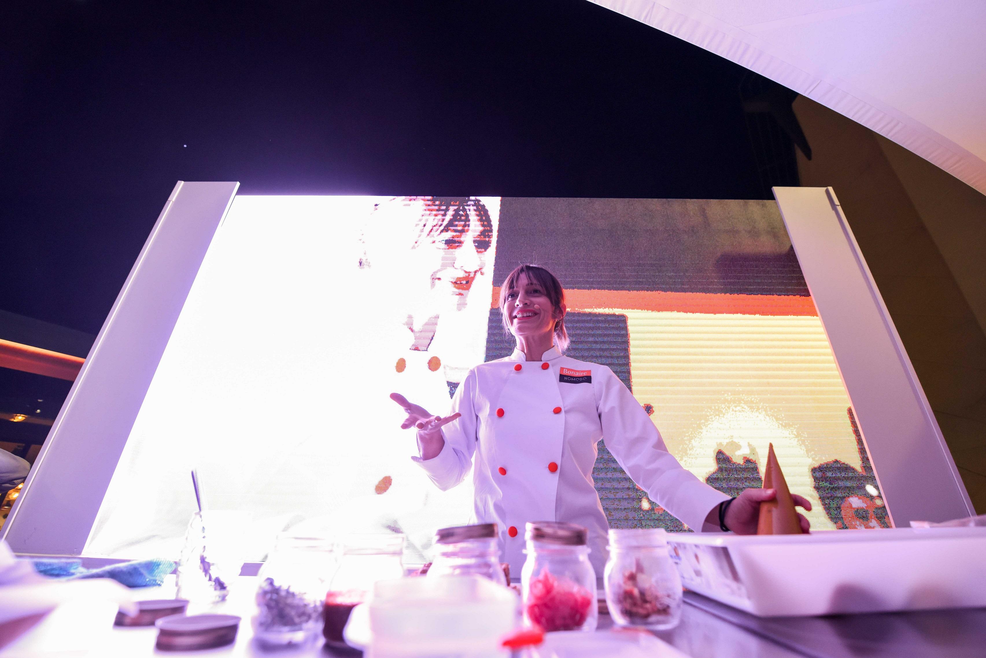 Las terrazas de Bonaire acogen un showcooking con Begoña Rodrigo