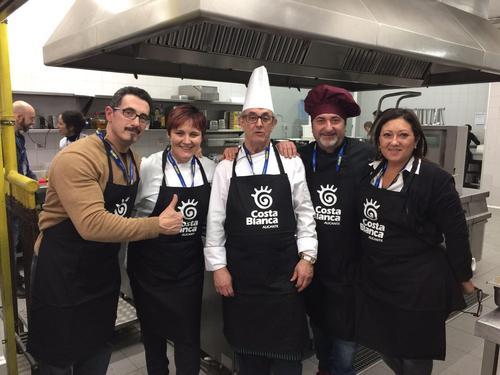 La Costa Blanca exhibe estos días todo su potencial gastronómico en 'Madrid Fusión 2017'